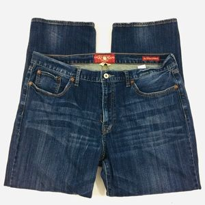 Lucky Brand 361 vintage straight mens 38x30 Jeans